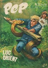 PEP 1969 nr. 35 - LUC ORIENT(COVER H.G. KRESSE) / OPEL GT / COMICS