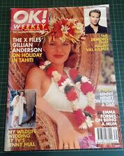 OK! weekly magazine X-files Gillian Anderson Bikini holiday