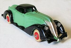 Hubley Toys DieCast Metal STREAMLINED AUBURN BOATTAIL COUPE CAR V RARE NMINT