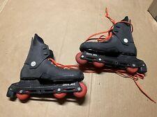 New listing Rollerblade Zerta 303 Inline Skates Size Black Orange Free Shipping