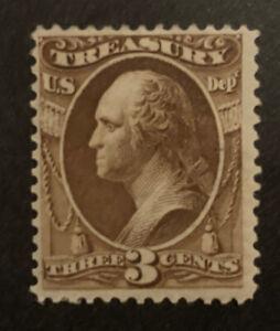 TDStamps: US Official Stamps Scott#O74 Mint H OG