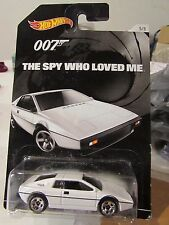 Hot Wheels Lotus Esprit S1 007 The Spy Who Loved Me White