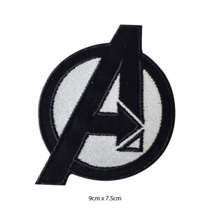 Avengers Super Hero Movie Embroidered Patch Iron on Sew On Badge For Clothes etc