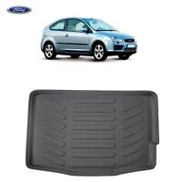 Ford Focus Boot Mat Liner Tailored Fitted Floor Protector Rubber 05-2011 3 DOOR