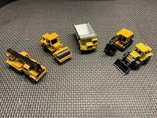 Lot Of (5) MAJORETTE Utility Veh.Trucks NO. 274, Crane 283,Pelle242,BD265,Rol226