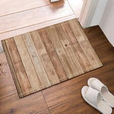 Door Mat Bathroom Rug Bedtoom Carpet Bath Mats Rug Non-Slip Wood flooring