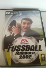 FIFA FUSSBALL MANAGER 2002 - PC SPIEL - EA SPORTS