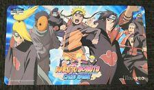 Naruto Boruto CCG Chrono Clash Card Game Gencon Akatsuki Play Mat Playmat Champ