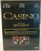 Casino 3×DVD Collector Dgbook Dir( Martin Scorsese) De Niro_Stone _Pesci Fr Neuf