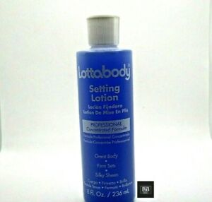 Lottabody Setting Lotion Professional, Concentrated Formula 236ml or 450ml