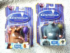 LOT 2 RATATOUILLE DOLLS: EMILE & GIT (FIGURES). VERY RARE! BRAND NEW, OLD STOCK!