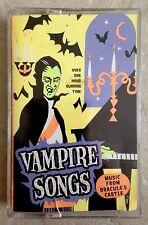 VAMPIRE SONGS MUSIC FROM DRACULA'S CASTLE K-TEL HALLOWEEN HAUNTED HOUSE Cassette