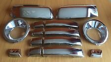 CHROME SET FITS RANGE ROVER SPORT 2005-2009 HANDLES FOG MIRROR COVERS