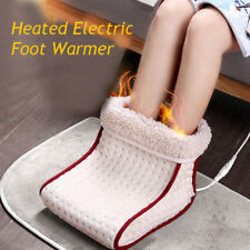 Cosy Heated Electric Warm Foot Warmer Washable Heat Settings Slippers Relaxing