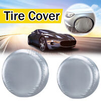 1Pcs Car Wheel Spare Tire Tyre Case Cover Protector For SUV Off-Road Size M ~
