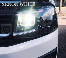 VW TRANSPORTER T5 T6 LED BRIGHT ICE WHITE DRL DAYTIME RUNNING LIGHT BULBS CANB