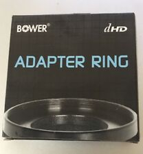 Bower AU40558 Step Up Ring Adapter, 40.5 mm to 58 mm (Black)