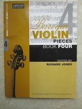 Baroque Violin Pieces Book 4 with piano edited by Jones *NEW* Publisher ABRSM