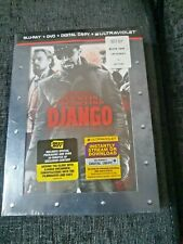Django Unchained Blu-Ray + DVD Best Buy Exclusive Special Packaging New & Sealed
