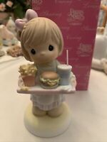 Precious Moments Figurine - Our Friendship Was Made To Order, 879134 w/box