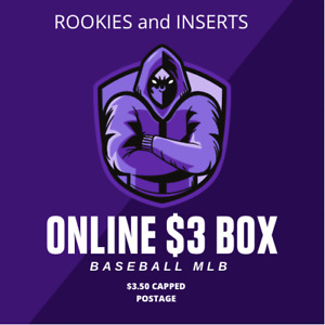 Select Your Card MLB Baseball $3 a card with Rookies & inserts capped shipping