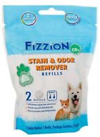 Fizzion Concentrated Cleaner 2 Tablet Pet Stain & Odor Remover Makes 2 Refills