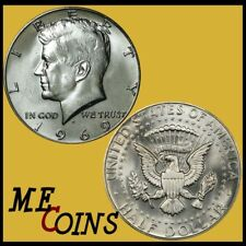 1969-D SILVER Kennedy Half Dollar, 40%, GEM BU ,  Free Shipping!