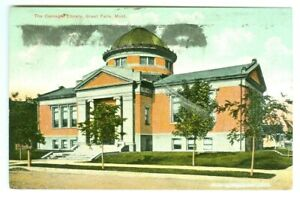 Great Falls MT The Carnegie Library 1909