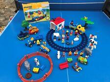 Playmobil 123 Enorme Lote Muy Buen Estado kg Granja Zoológico Vehículos Animales
