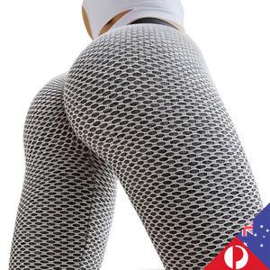 Women Push Up Yoga Pants Ruched Butt Lift Booty Scrunch Stretch Leggings Workout