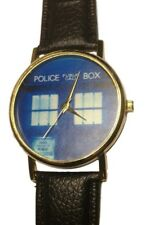 Doctor Who Tardis Genuine Leather Band Wrist Watch