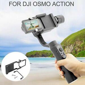 Camera Adapter Bracket For Handheld DJI Osmo Action Mobile2 Gimbal Stabilizer