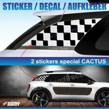 919 Autocollant Damier CITROEN C4 CACTUS sticker decal aufkleber adesivo  flag