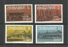 Zimbabwe 1980 CASSA di RISPARMIO POSTALE SG, 597-600 un/mm NH LOTTO 866a