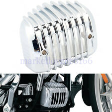 Chrome Voltage Regulator Cover For Harley Heritage Softail Classic FLSTC '01-'17