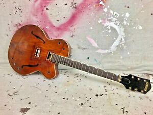 1962 Gretsch 6119 Tennessean Guitar Project Needs Repair & Restoration 1960's