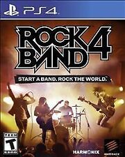 PLAYSTATION 4 ROCK BAND 4 BRAND NEW - FREE SHIPPING & TRACKING
