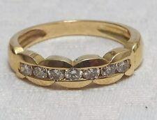 Antique 18k Gold Diamond Eternity Ring