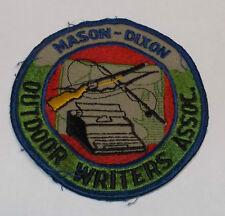Vintage Mason-Dixon Outdoor Writers Association Jacket Patch