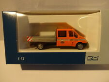 Ford Transit DoKa Pritsche Asfinag (A) Rietze 31138 H0 1:87  Neu