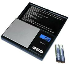 Pocket Digital Scale 200g Jewelry Gram Silver Gold Coin Milligram Size Grain USA