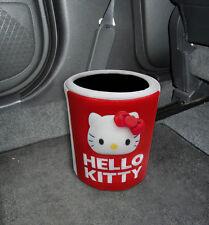 New Hello Kitty Trash box Rubbish Garbage Container Car Accessories