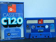 BASF LH  C 120 Low Noise  Compact Cassette 1971-1973 Audio-Cassette Tape 5*