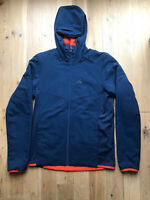 Salomon Drifter Hoodie Reversible Hooded Jacket Blue Orange M Primaloft RRP £170