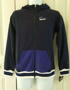 Nike Jordan Boys Hooded Sweatshirt Long Sleeve Full Zip 955541-B8Z
