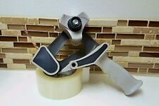 """Tape Gun Dispenser-Heavy Duty Supreme Rubber Roller and w/ 2"""" Roll of Clear Tape"""