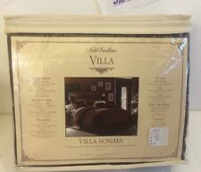 Noble Excellence Villa Sonata! King Bedskirt! Rn #119393 Brown Brand New!