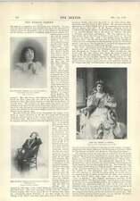 1896 Beatrice FERRAR E FAMIGLIA Mrs royse Naval RECORD