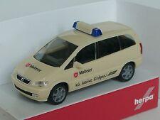 Herpa Opel Zafira MALTESER, Erdgas-Fahrzeug - 046626 - 1:87