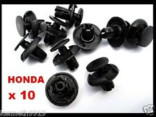 Honda Accord Civic Front Fender Push-Type Replacement Black Plastic Clips TT44